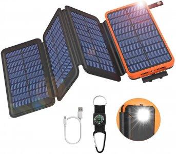 GOODaaa Solar Powerbank 25000mAh amazon