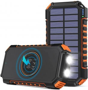 Riapow Solar outdoor Powerbank test bild 1